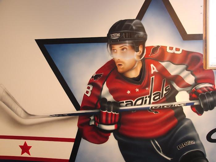 hockey(vue de prêt)