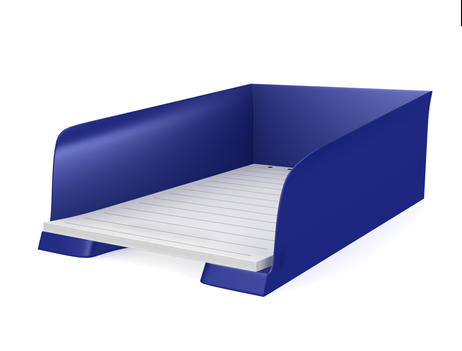 david romero animador 3d bandeja para papel de oficina