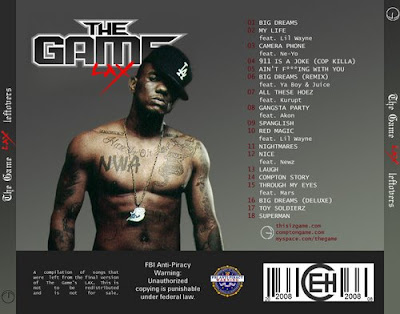 TJ's Corner: The Game - L.A.X. Leftovers [BOOTLEG] [2008]