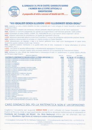 Penultimo manifesto del PDL