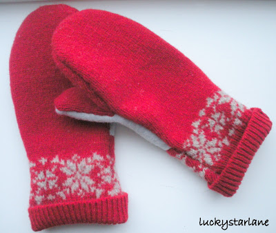 Felted Wool Mitten Pattern - Women's Gloves & Mittens at Beso.com