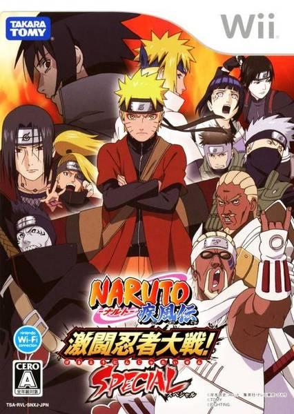Download Naruto Shippuden: Gekitou Ninja Taisen Special - Wii NTSC-J