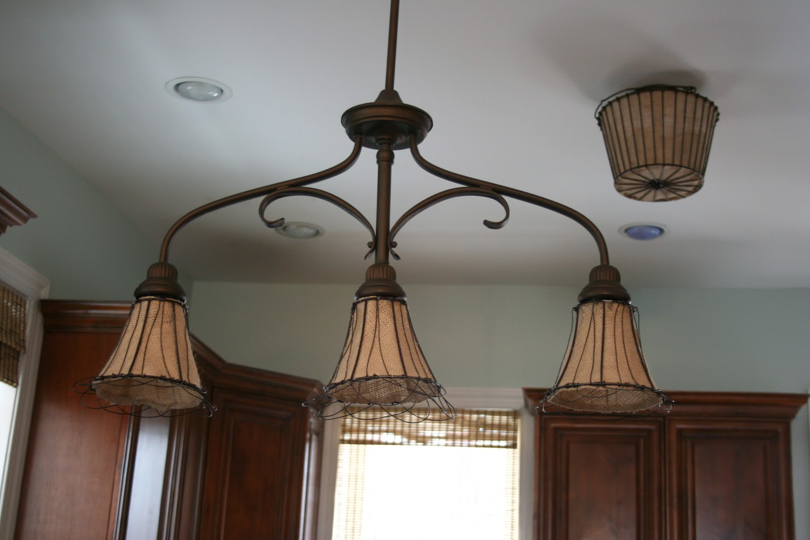 How to make burlap light shades home stories a to z when we rehabbed our home 3 12 years ago i really wanted tiffany lighting everywhere on my first level it was in at the time and i liked how it paid arubaitofo Choice Image