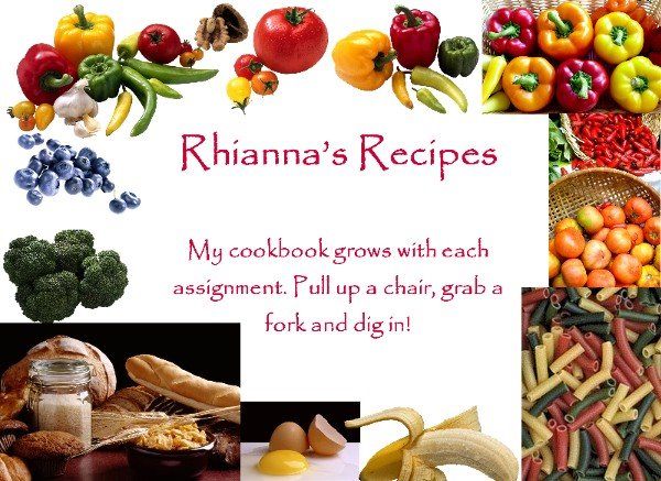 Rhianna's Recipes