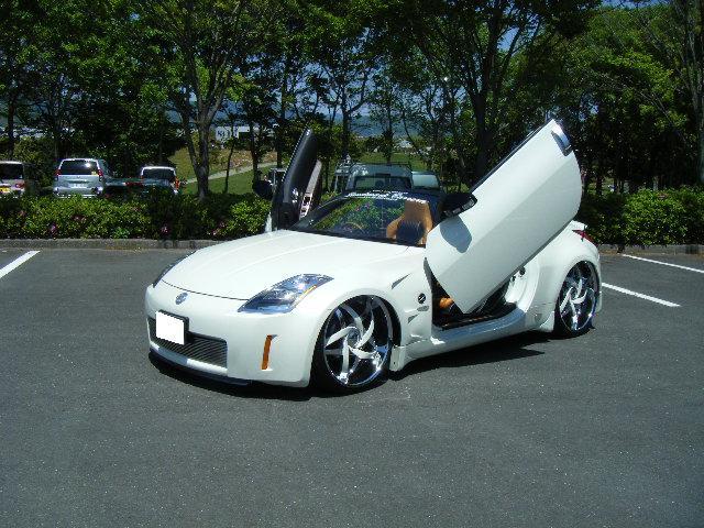 nissan 350z white custom. nissan 350z with 24 350z white custom
