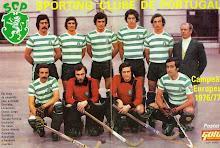 Campeões Europeus 1977 - Hóquei em Patins