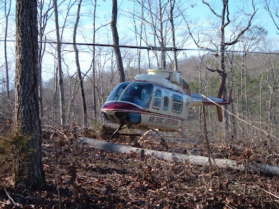 Helicopter Wooded LZ