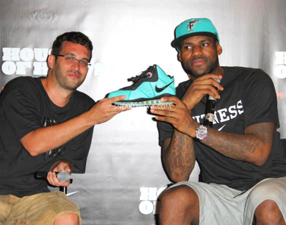 LeBron at Nike LeBron 8 South Beach Release