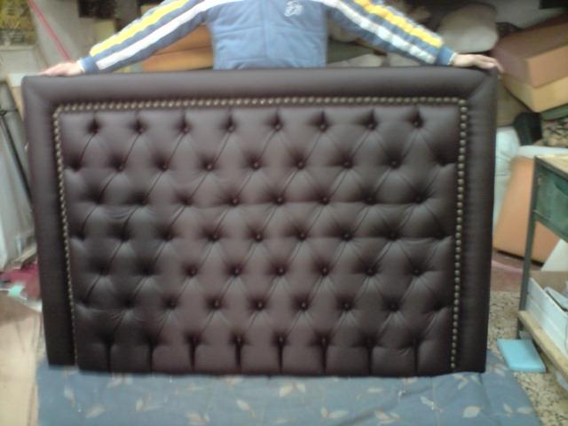 El tapicero de la reina - Cabeceros de cama tapizados en piel ...