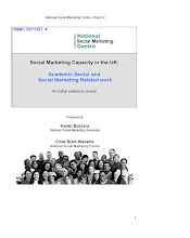 Social Marketing Capacity in the UK