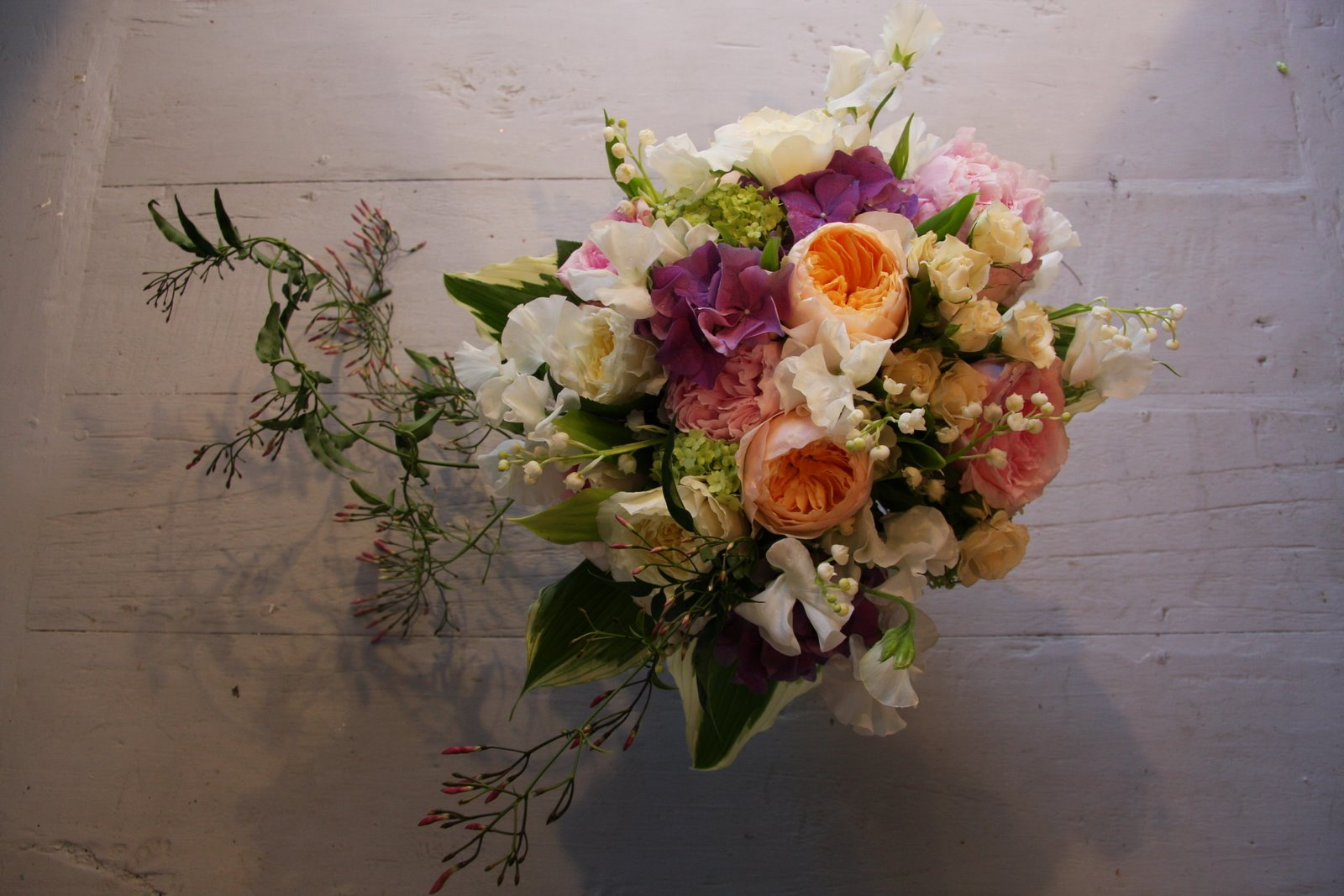 The Flower Magician: English Country Garden Wedding Bouquet