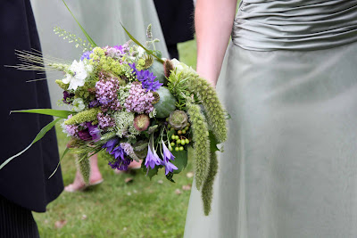 Wildflower Wedding Bouquet on Bouquets  Wild Flower Bridesmaid S Bouquet S To Compliment Sage Green