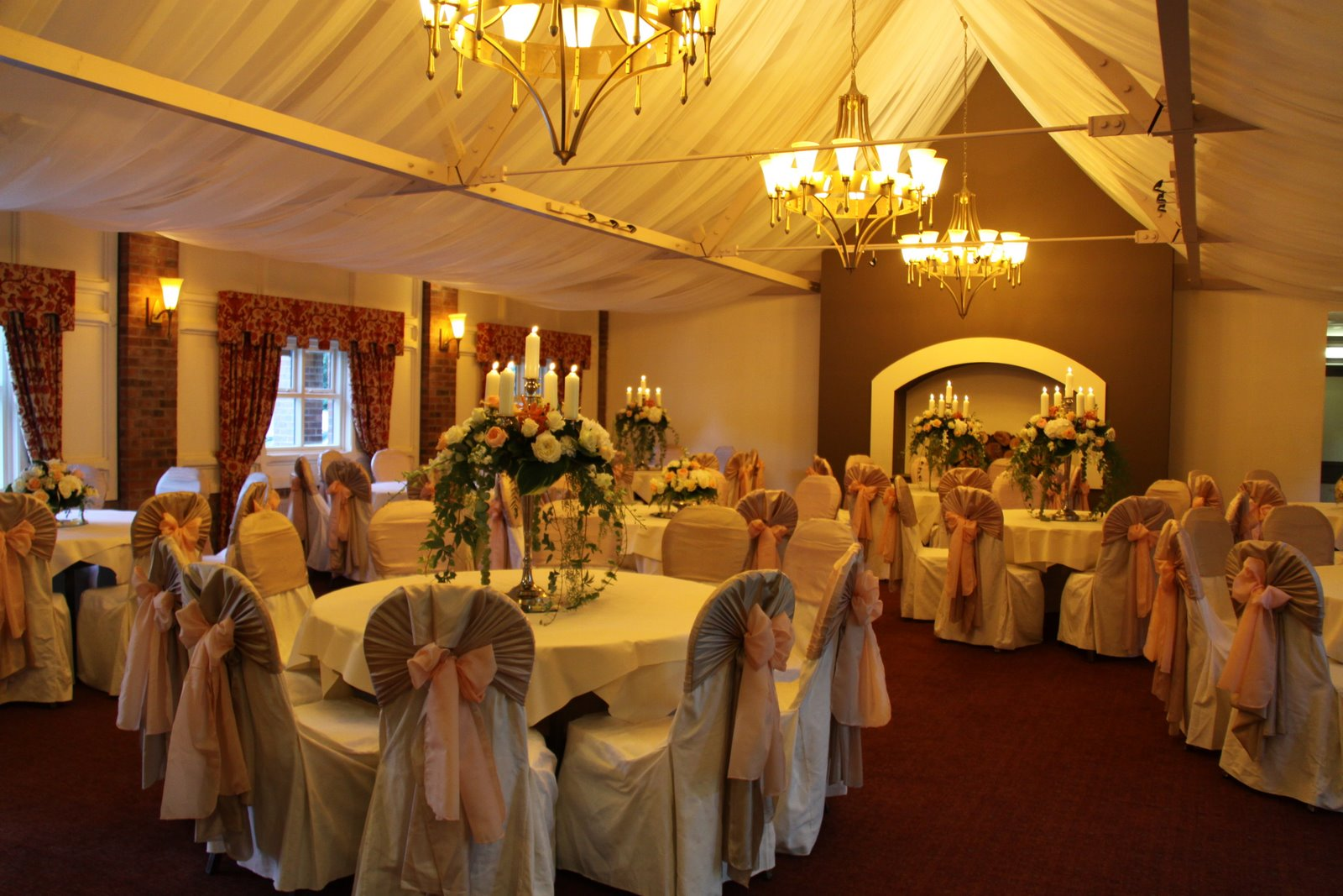 Reception Hall For Wedding