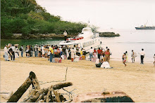 Launch from Isla Taboga Panama