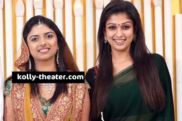 Director Siddique Daughter Marriage Stills-Nayanthara