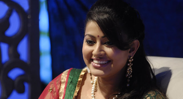 Sneha as guest for Vijay TV's 'Azhagiya Thamizh Magan' Still-1