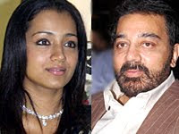 Trisha Sings for her next movie with Kamal