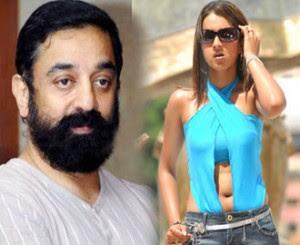 Kamal to Kiss Trisha in Manmadhan Ambu