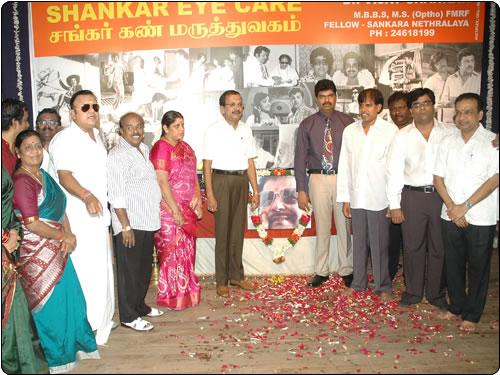 Jai Shankar's Son conducts an eye camp