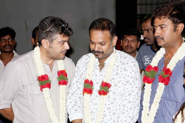 Ajiths Mangaatha Movie Launch Still 4