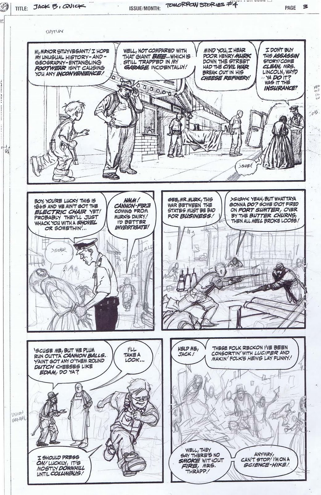 Kevin Nowlan Jack B Quick A Brief Geography Of Time Page 3