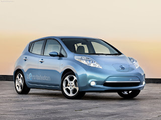 NISSAN LEAF WALLPAPER