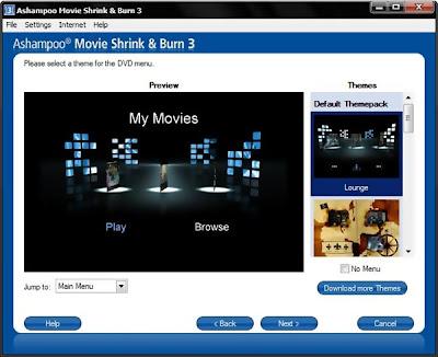 Download - Ashampoo Movie Shrink & Burn 3.03 - Nova Versão
