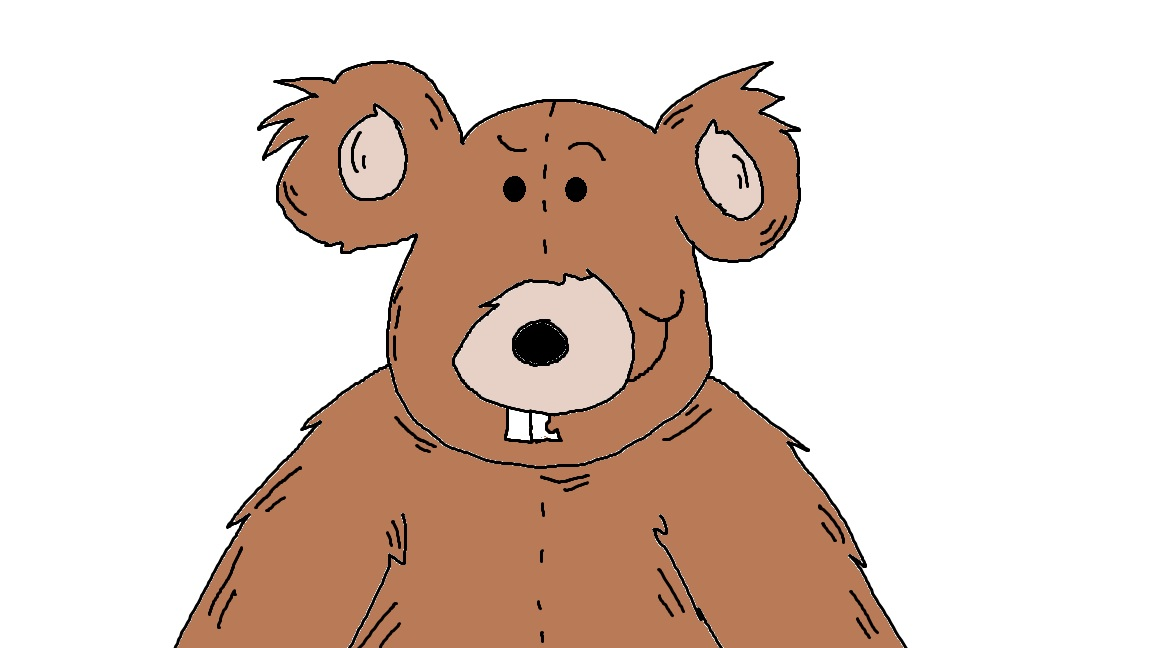 ... The Letter B Clip Art Of A Bear. on worksheets matching teddy bear