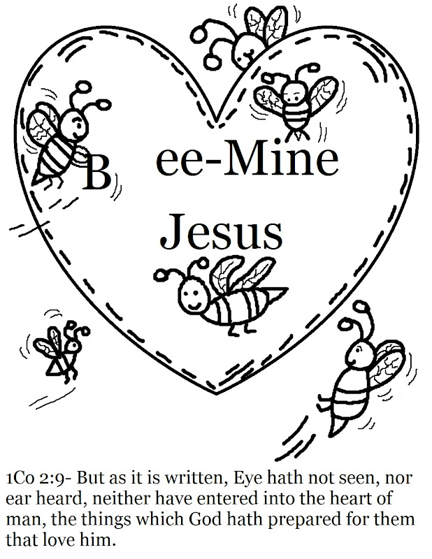 Valentine's Day Coloring Pages title=