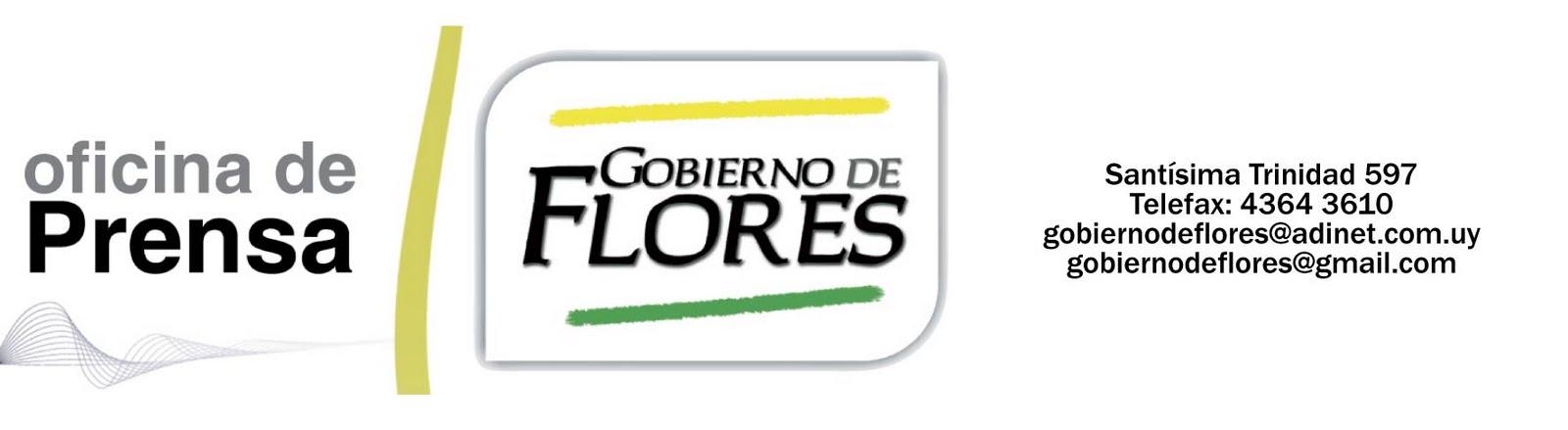 Oficina de Prensa del Gobierno de Flores