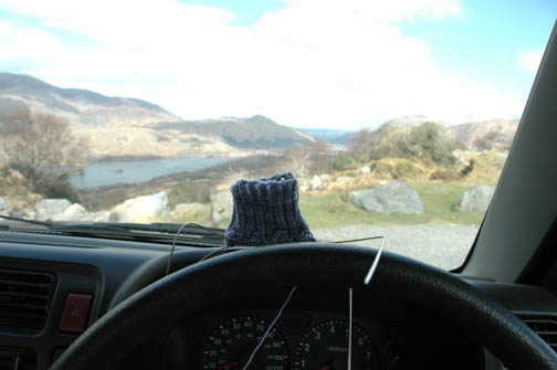 [Sock+on+dashboard+at+Ladies]