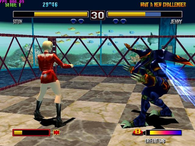 (aporte) Bloody Roar 2 para xperia play pocket station