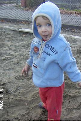 James, January 2007; age 2