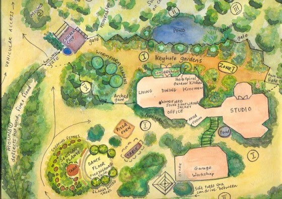 could work well with the rectangular space permaculture garden design garden visioning pinterest permaculture garden permaculture and gardens