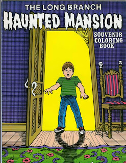 Haunted Mansion coloring book cover