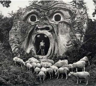 Parco dei Mostri circa 1952