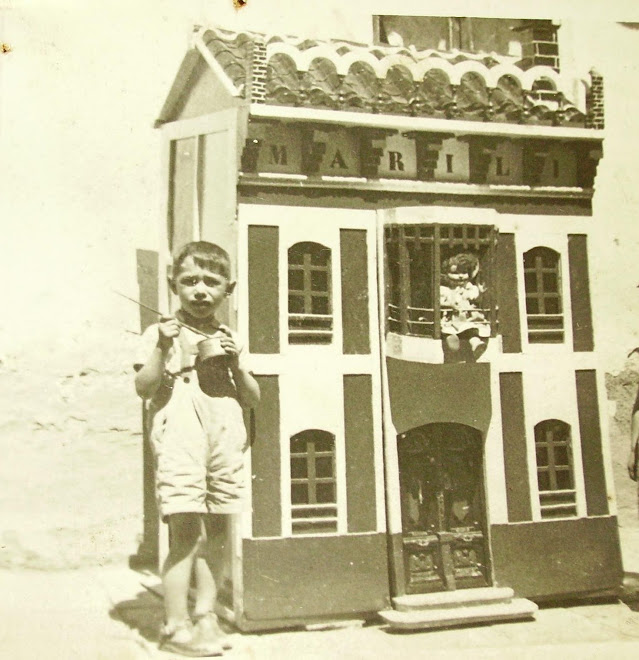 La casa de mi bisabuelo hecha en el ao 1951