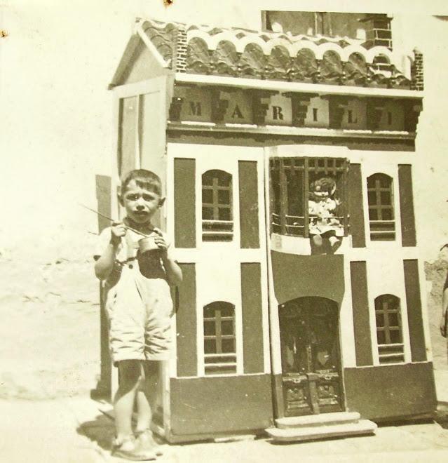 La casa de mi bisabuelo hecha en el año 1951