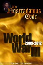 غلاف كتاب شيفرة نوستراداموس والحرب العالمية الثالثة