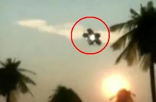 ما هي حقيقة مقطع الفيديو الذي يصور الأطباق الطائرة في السعودية ؟
