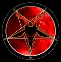 عبدة الشيطان يستخدمون ذلك الرمز للإشارة إلى طائفتهم وللشيطان نفسه