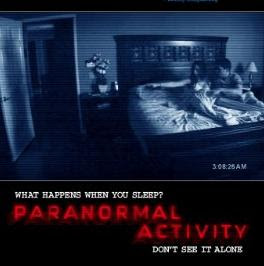 بوستر فيلم Paranormal Acitivity