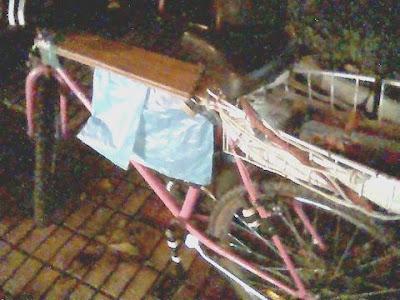 Vista en vivo la bici daba para escribir una redacción de dos caras a un espacio