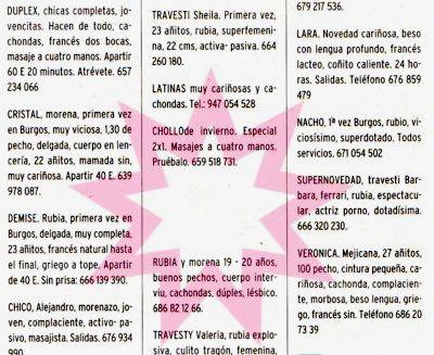Pinchando se ve tal cual aparecía en Diario de Burgos el 17/12/06