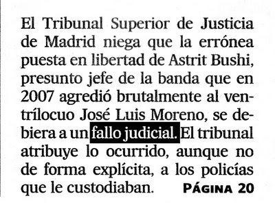El País. Portada. 05/04/09