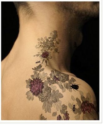 I really like this tattoo, if I weren't afraid of needles maybe?