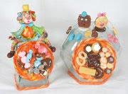 Potes de Balas e Biscoitos