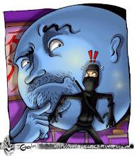 Un ninja indignado por Clan Nahualli