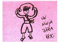 Un ninja indignado por Cecilia Salguero