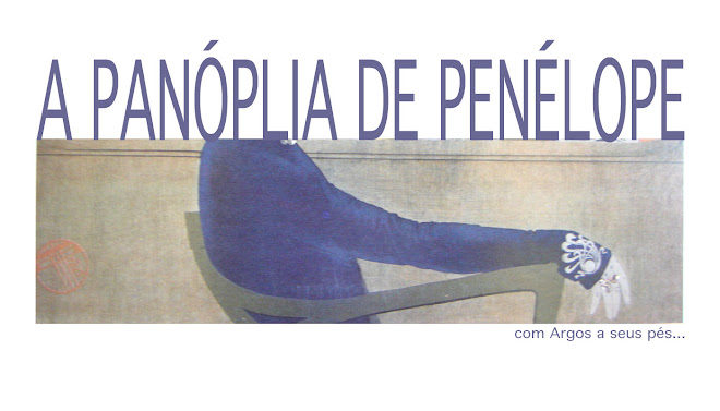 a panóplia de penélope (com Argos a seus pés)